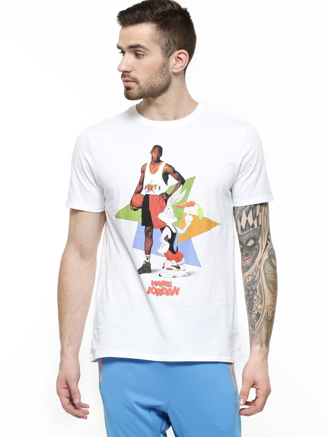 4a6bd0fd NIKE Air Jordan Hare Poster T-shirt - Buy Men's Tee Shirts online in India  | KOOVS