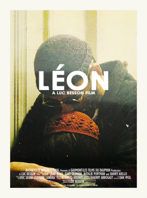 'Leon'  movie with Nathalie Portman and Jean Reno dir. by Luc Besson - 1994