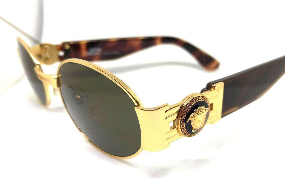 f016033eee8 Gianni Versace Mod.S71 Col.030 Gold Vintage Sunglasses / Eyeglasses ...