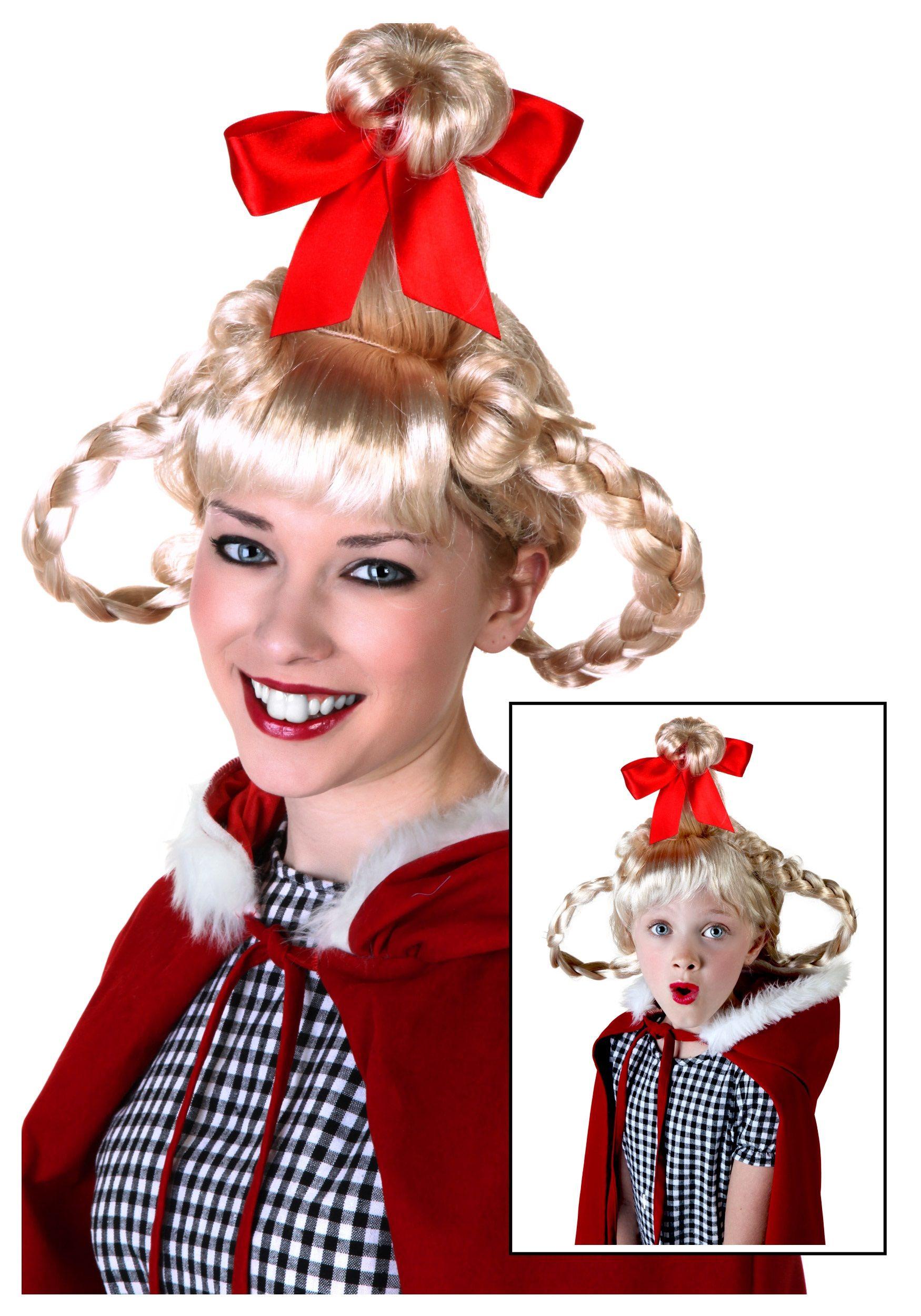 Cindy Lou Who Costume, Christmas Girl