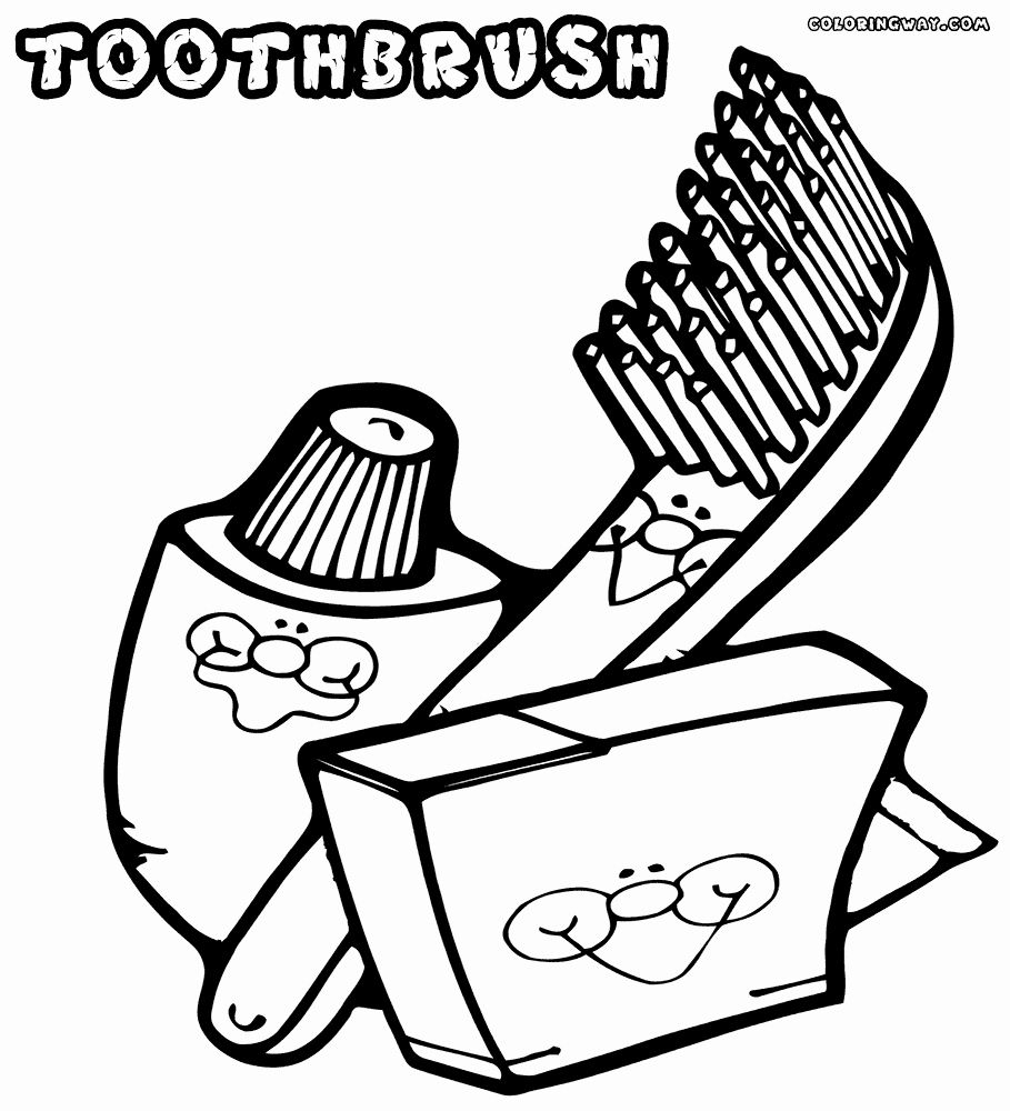 Tooth Brush Coloring Page Luxury Toothbrush Coloring Pages Brushing Teeth Coloring Pages Paw Patrol Coloring