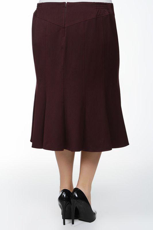 длинная джинсовая юбка с вышивкой