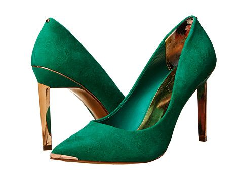 decd99078550 Ted Baker Elvena Green Suede - Zappos.com Free Shipping BOTH Ways ...