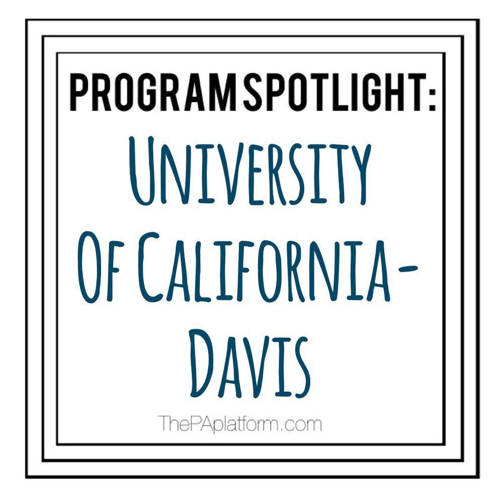 Program Spotlight University Of California Davis The Pa Platform University Of California Davis University Of Wisconsin Madison University Of California