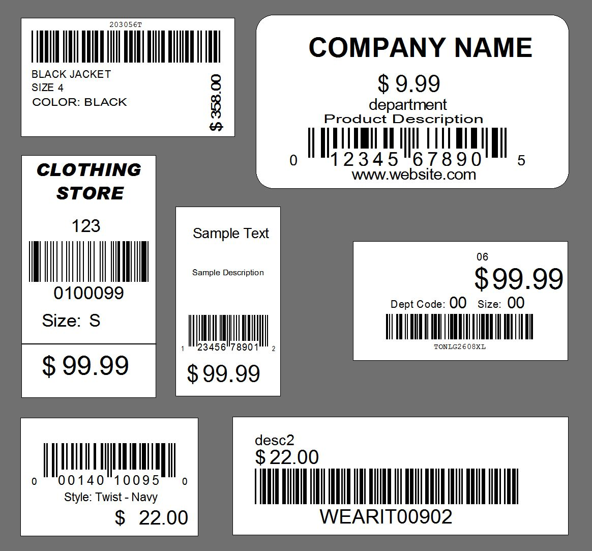 Clothing Tag Design Examples  Google Search  Graphic Design