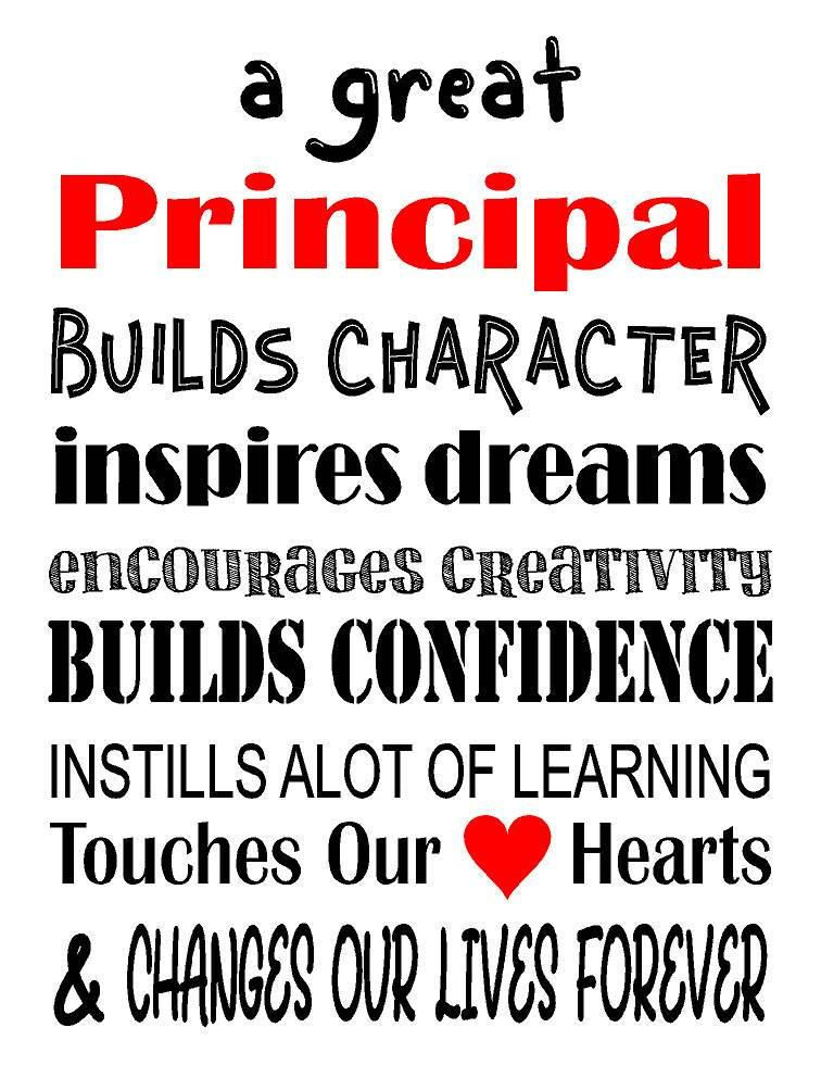 a great principal teacher gift thank you gift christmas gift etc by heartlandsigns on etsy