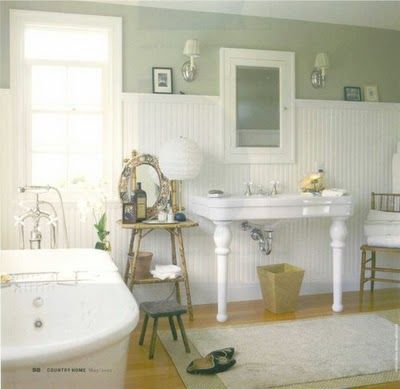 cottage bathroom ideas lilac lane cottage bathrooms on the brain - Bathroom Ideas Lilac