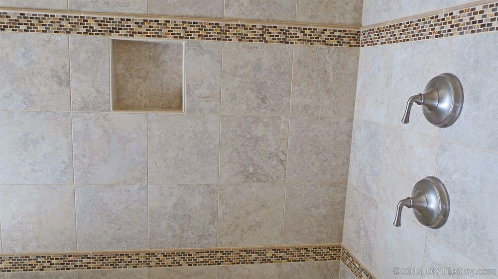 12 Inch Recessed Shampoo Niche Shower Niche Tile Installation Shower Tile