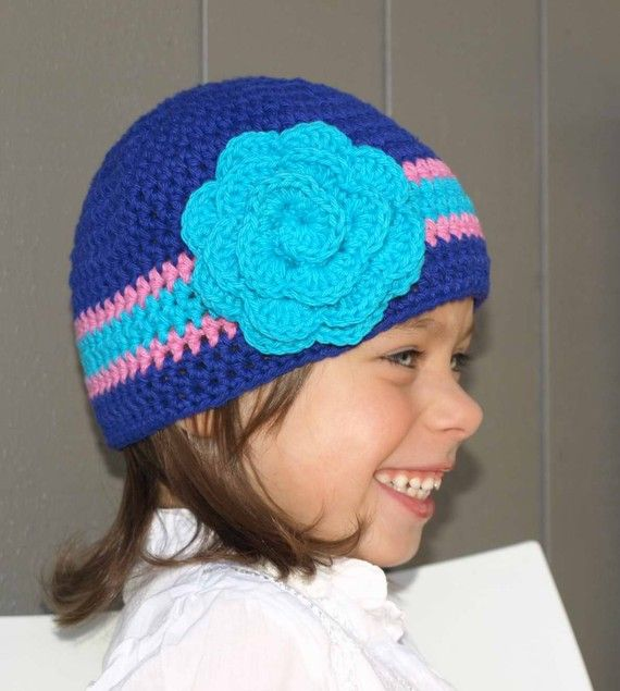 Crochet Hat PATTERN Girls and Boys Quick and Easy Hat Pattern ...