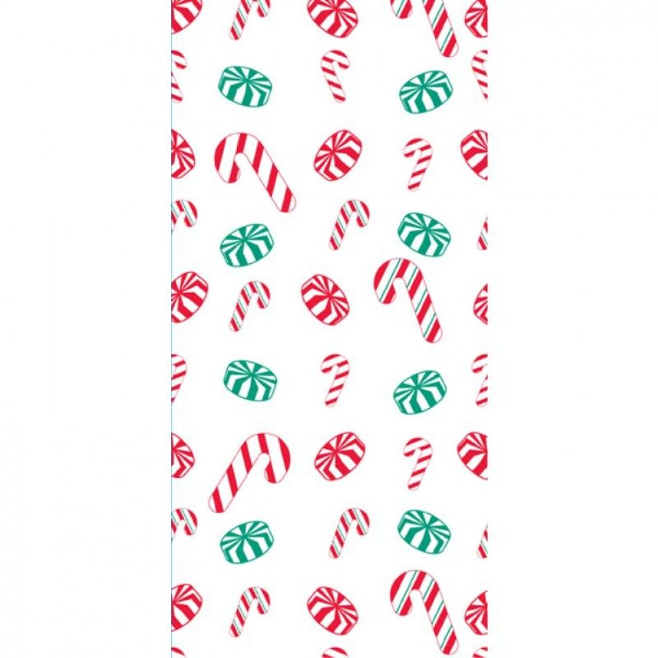 Large Holiday Candy Treat Bag with Twist Ties (BULK Case of 240 ...