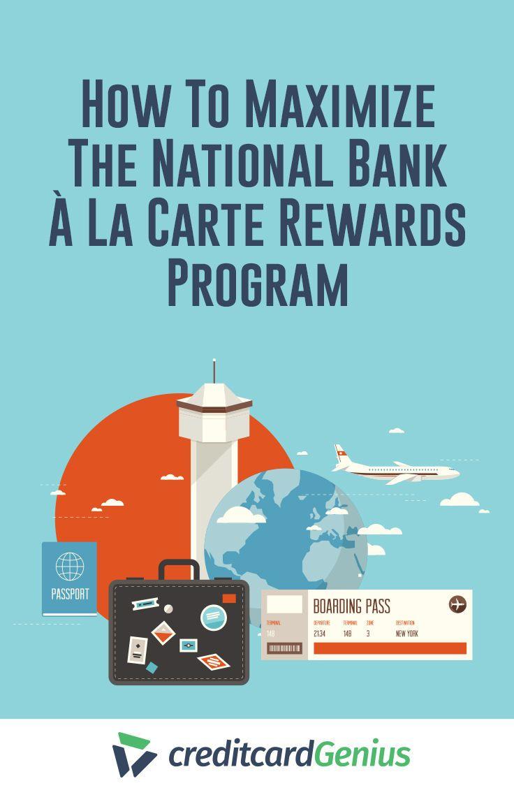 The National Bank À La Carte Rewards program offers great