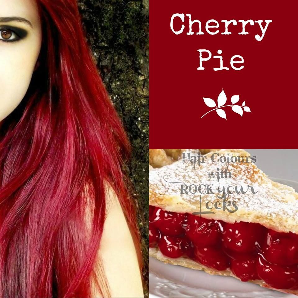 Cherry Red Hair Colour Inspiration Beauty N Stuff Pinterest
