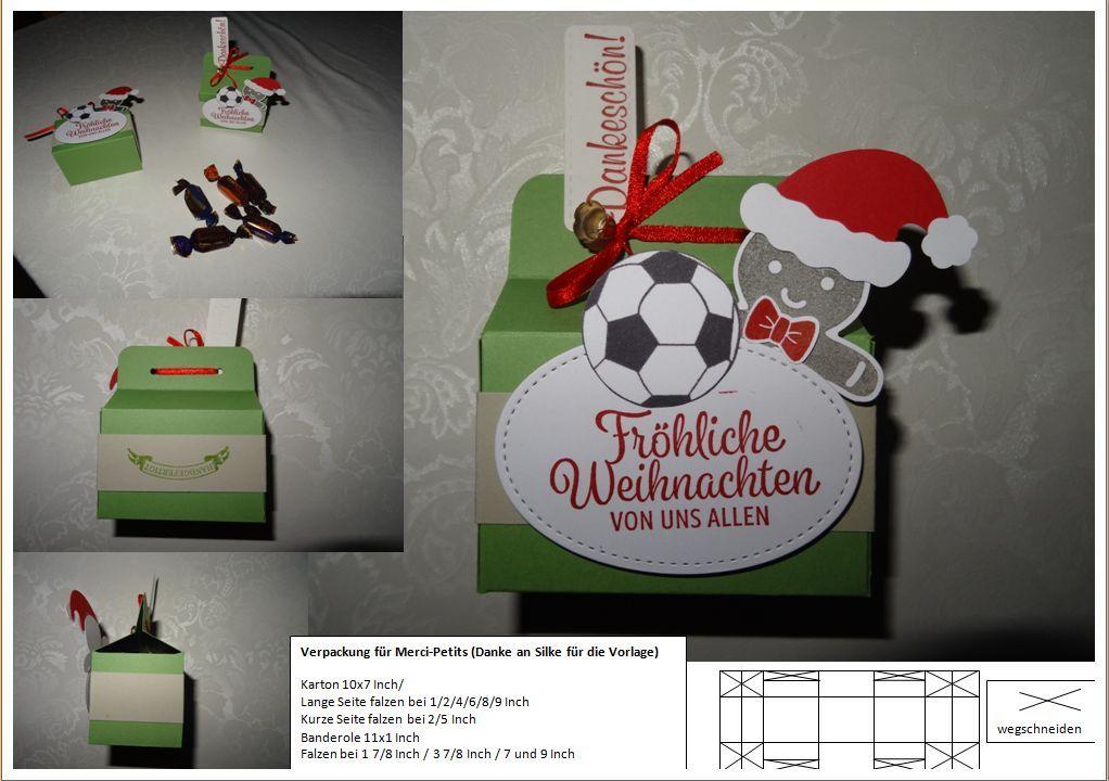Weihnachtsgrüße Mit Danksagung.Anleitung Stampin Up Trainer Danksagung Verpackung Trainergeschenk