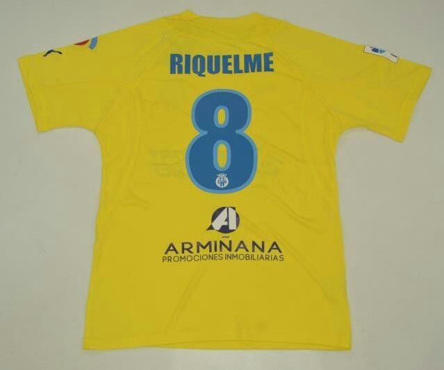 villareal jersey 2005 2006 roman riquelme shirt playera camiseta casaca lfp  (eBay Link) fdf0d5904