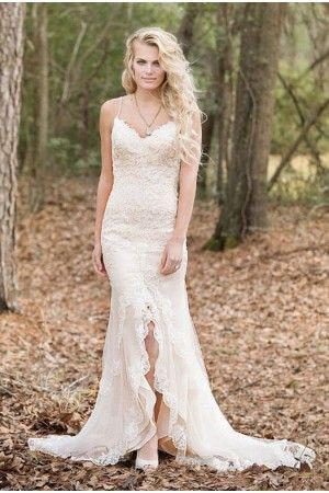 ba69cd4c6254 Amazing Ally Brudklänning | brud i 2019 | Spaghetti strap wedding ...