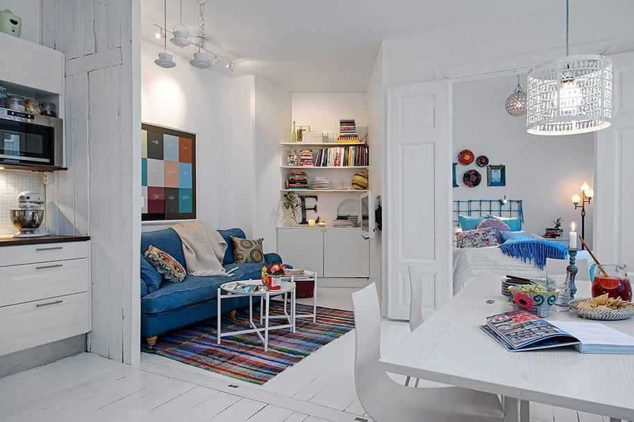 One room flat Home Pinterest Room, Small spaces and Apartments
