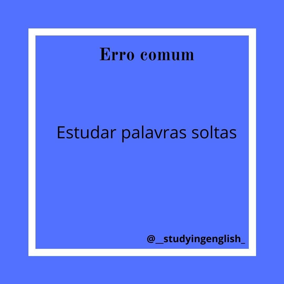 Dicas De Ingles