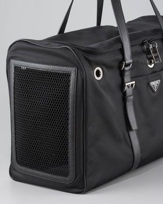 Prada Nylon Dog Carrier - Neiman Marcus  d550a2fd8170e