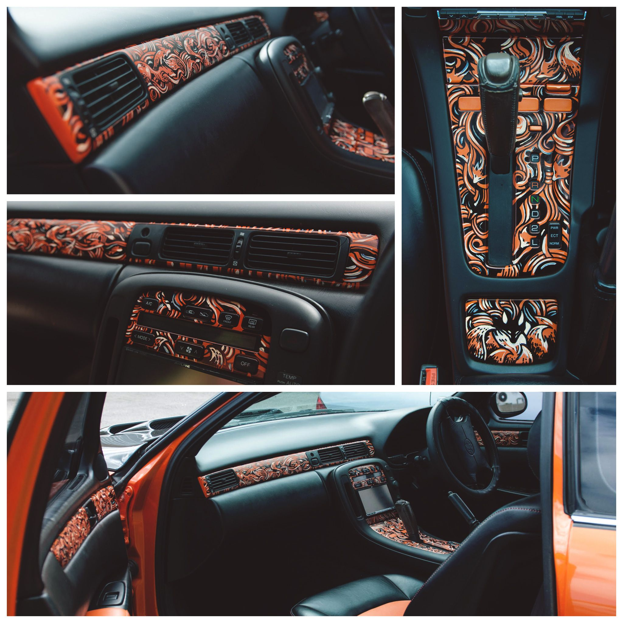 Fox Car Interior By PaperandDust.deviantart.com On
