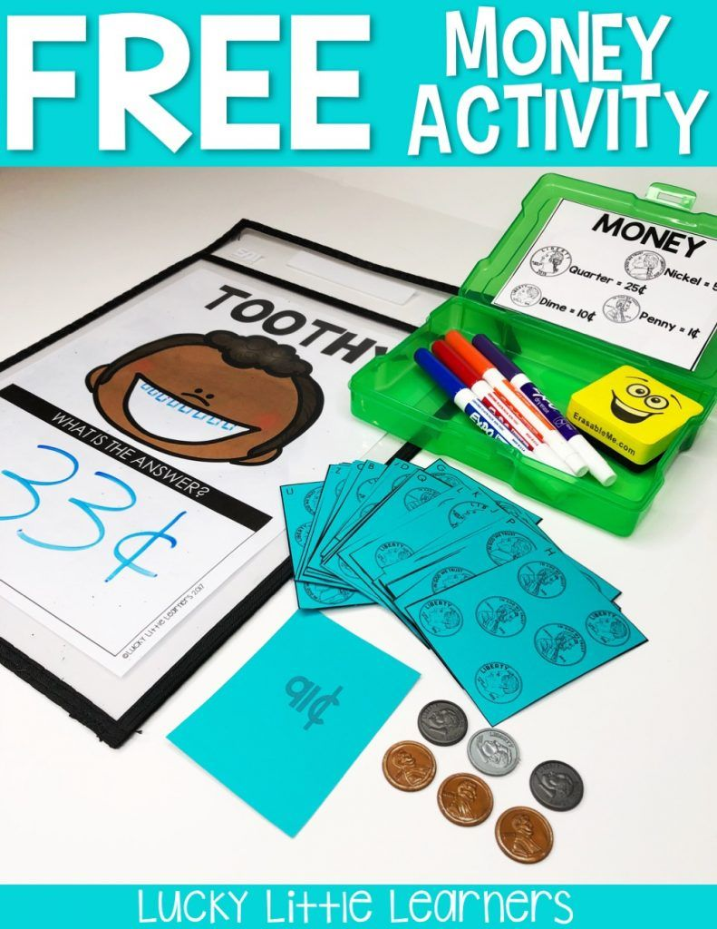 Toothy Task Kits | Early finishers, Money activities and Students