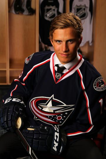 Alexander Wennberg - No. 14 pick for the Columbus Blue Jackets in the 2013 NHL Draft