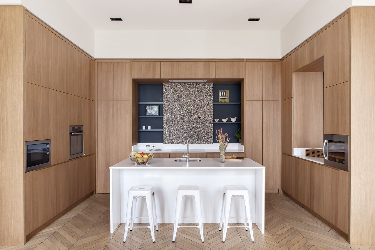 Silestone Paris: In Paris, A Grand Apartment Gets An Update For A Modern