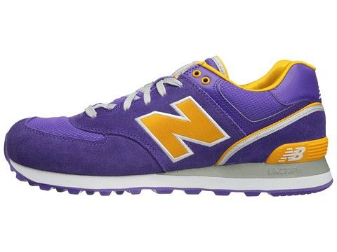 buy popular 307f8 6dac2 New Balance - 574 Stadium Jacket ML574 Men s (Purple Gold)