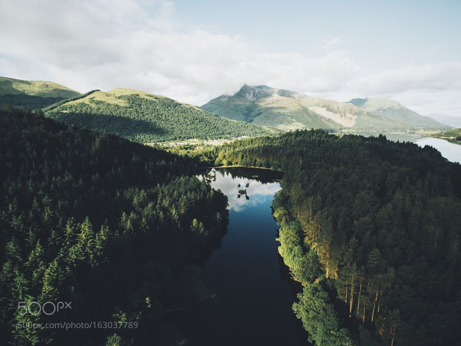 Above the Lochan by daniel-casson1. Please Like http://fb.me/go4photos and Follow @go4fotos Thank You. :-)