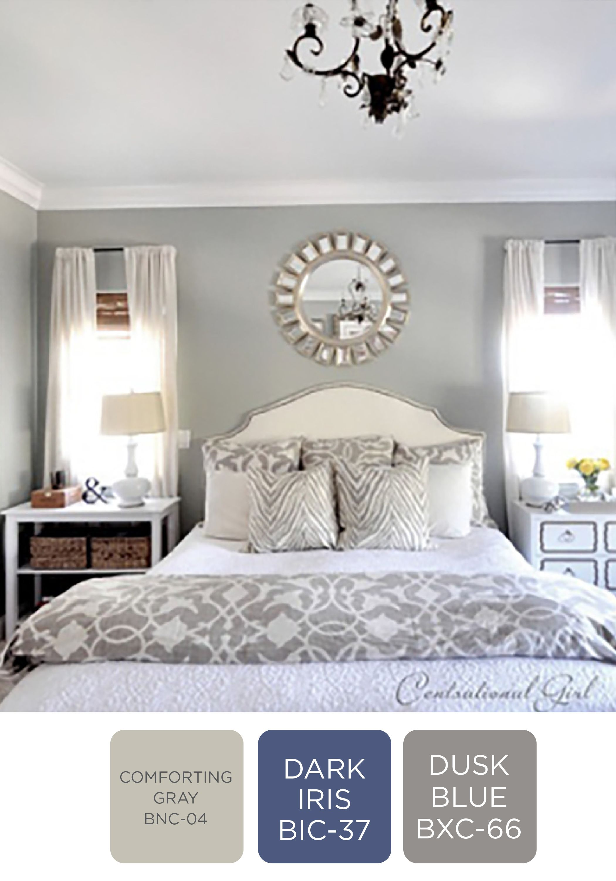cozy greys gray and black rooms bedroom decor behr 15464 | 99f5827116a34a48544ef1e04b107a46
