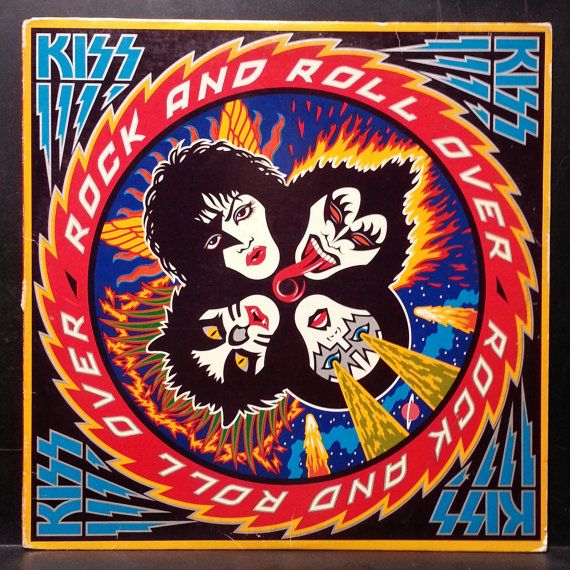 KISS Rock N Roll All Over 1976 NBLP 7037 12 by FurnitureCityMusic, $15.00