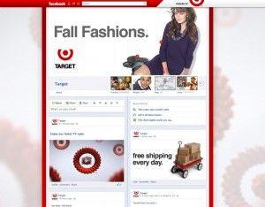 #Facebook #Timeline Brand Pages Sample   Target