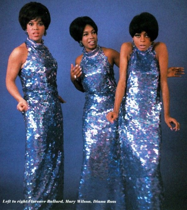 blue gowns Diana Ross Supremes | My Favorite Color...BLUE ...