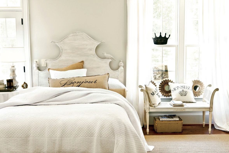 Claudette Headboard Bedroom Styles White Master Bedroom