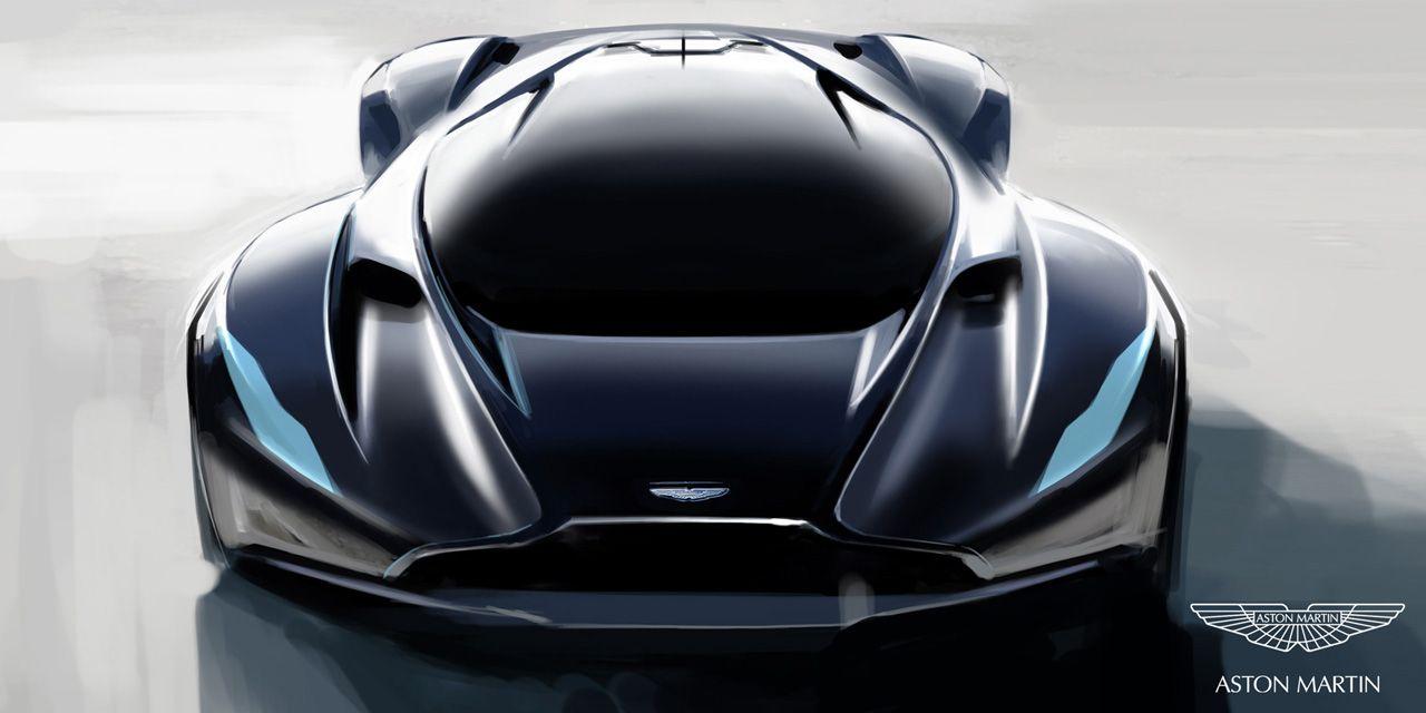 Aston Martin Unveil The DP 100 As The Gran Turismo Concept Car
