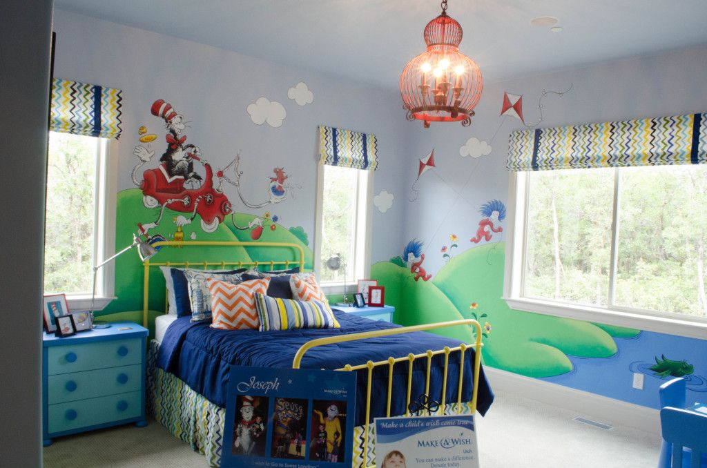 A Dr Seuss Bedroom: How To Seussify Your Child's Room
