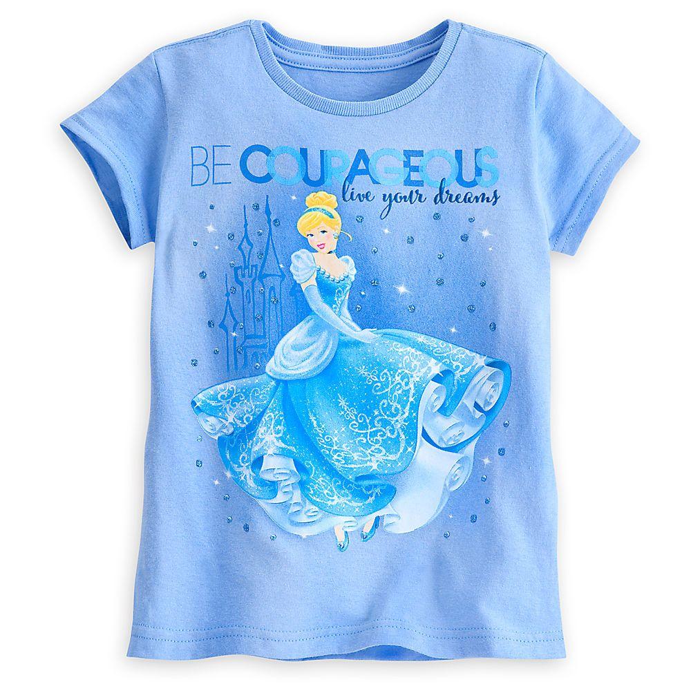 0bcb370fc Cinderella Dreams Tee for Girls