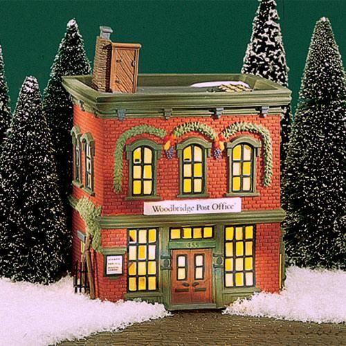 Woodbridge Home Exteriors: Woodbridge Post Office New England Village