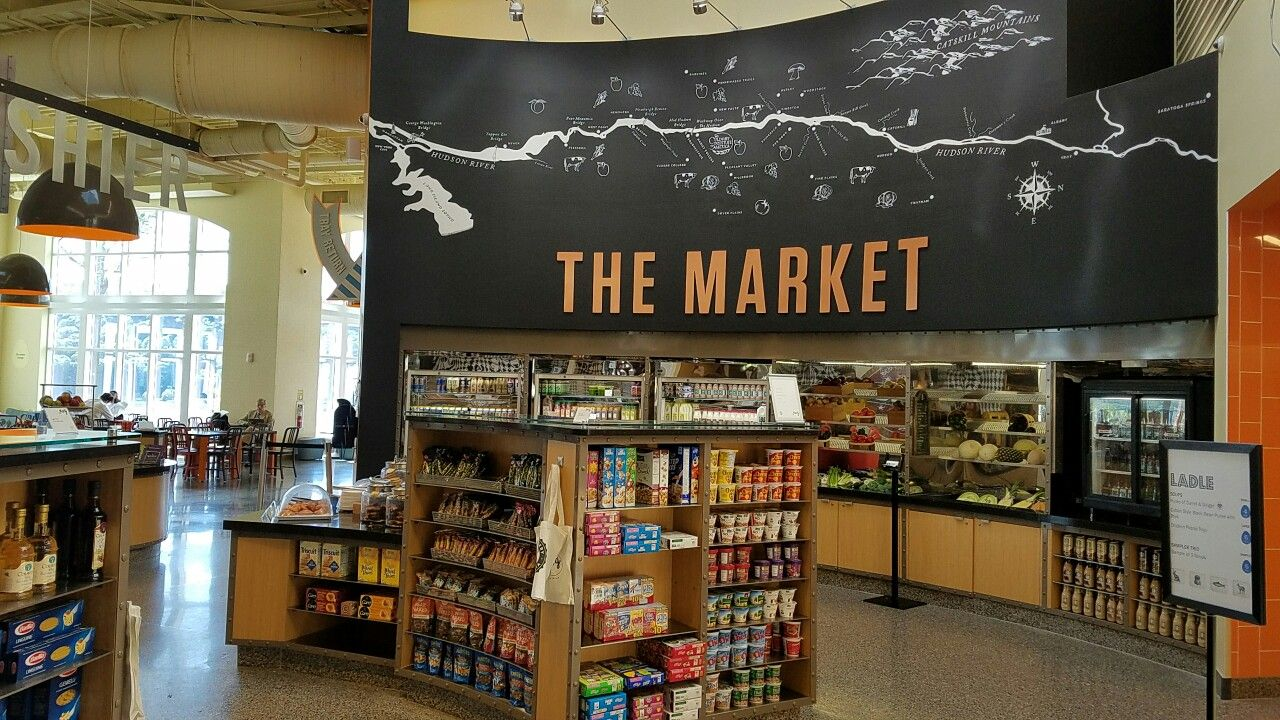 Market at CIA Hyde Park Marketing, Liquor Home