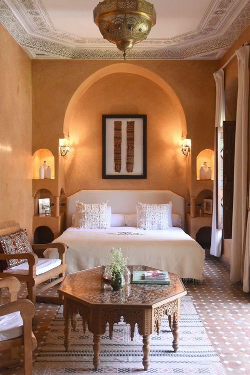 Riad Jardin Secret Master Bedroom Rehab Pinterest Moroccan - jardin interior