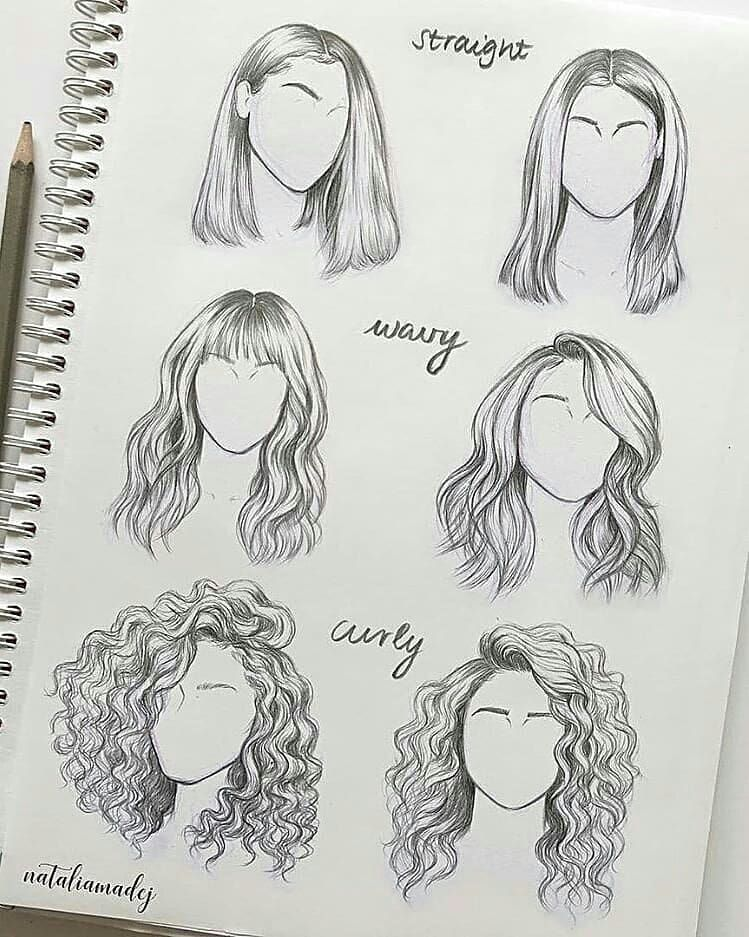 Learn Drawing Hairstyles Save And Come Back To It Later Follow Sketch Instadaily For More Check Out Our Fr How To Draw Hair Pencil Art Drawings Hair Sketch