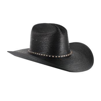 0c41f8edf49 Resistol Men s Jason Aldean Asphalt Cowboy Palm Hat