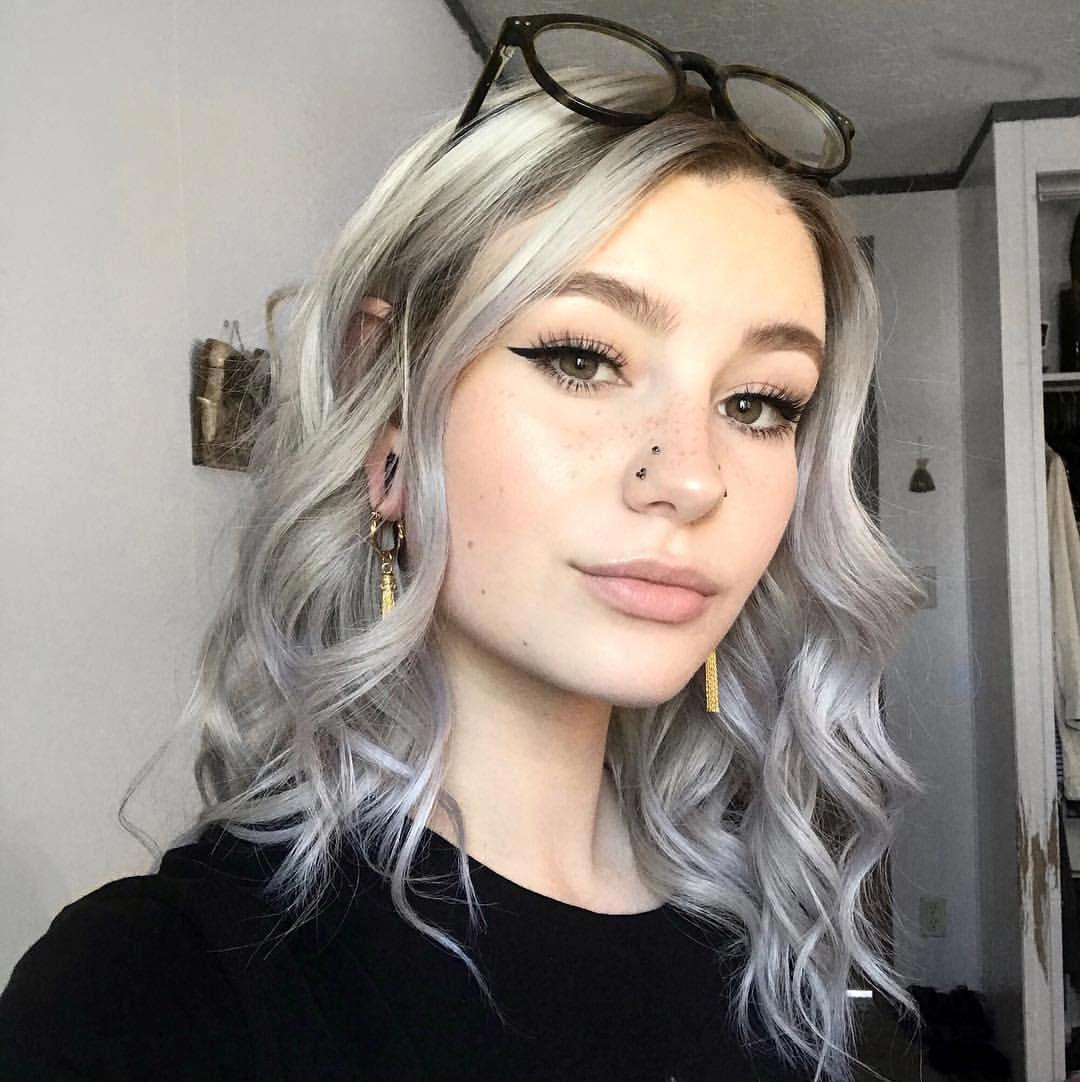 Arctic fox hair color ohalexismarie my hair is silver