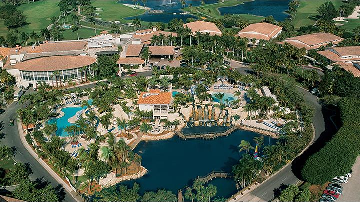 Aerial view of Trump National Doral Miami. | Doral Miami ...
