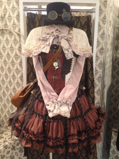 Ruffles and Steam, steampunk-and-junk: h.NAOTO