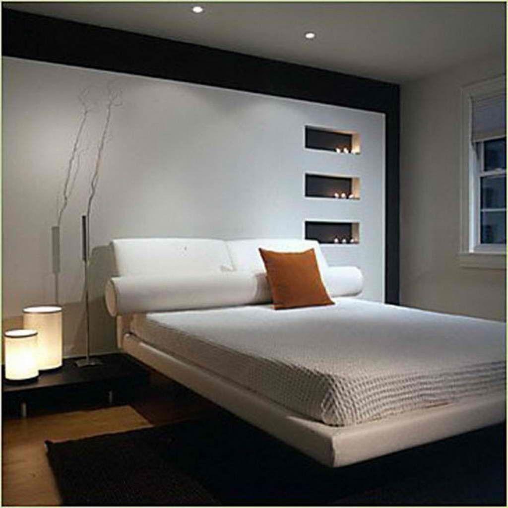 Schwarze Und Weiße Keller Schlafzimmer Dekor Von Großer Schönheit