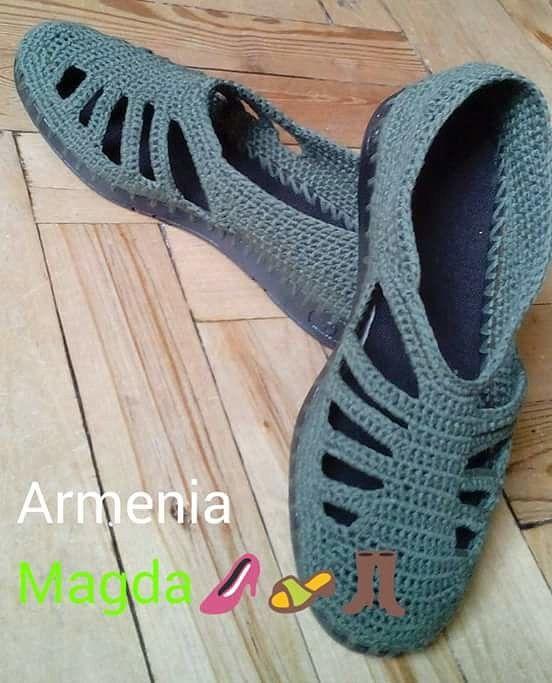 52) Одноклассники | Вязаная обувь | Pinterest | Zapatos tejidos ...