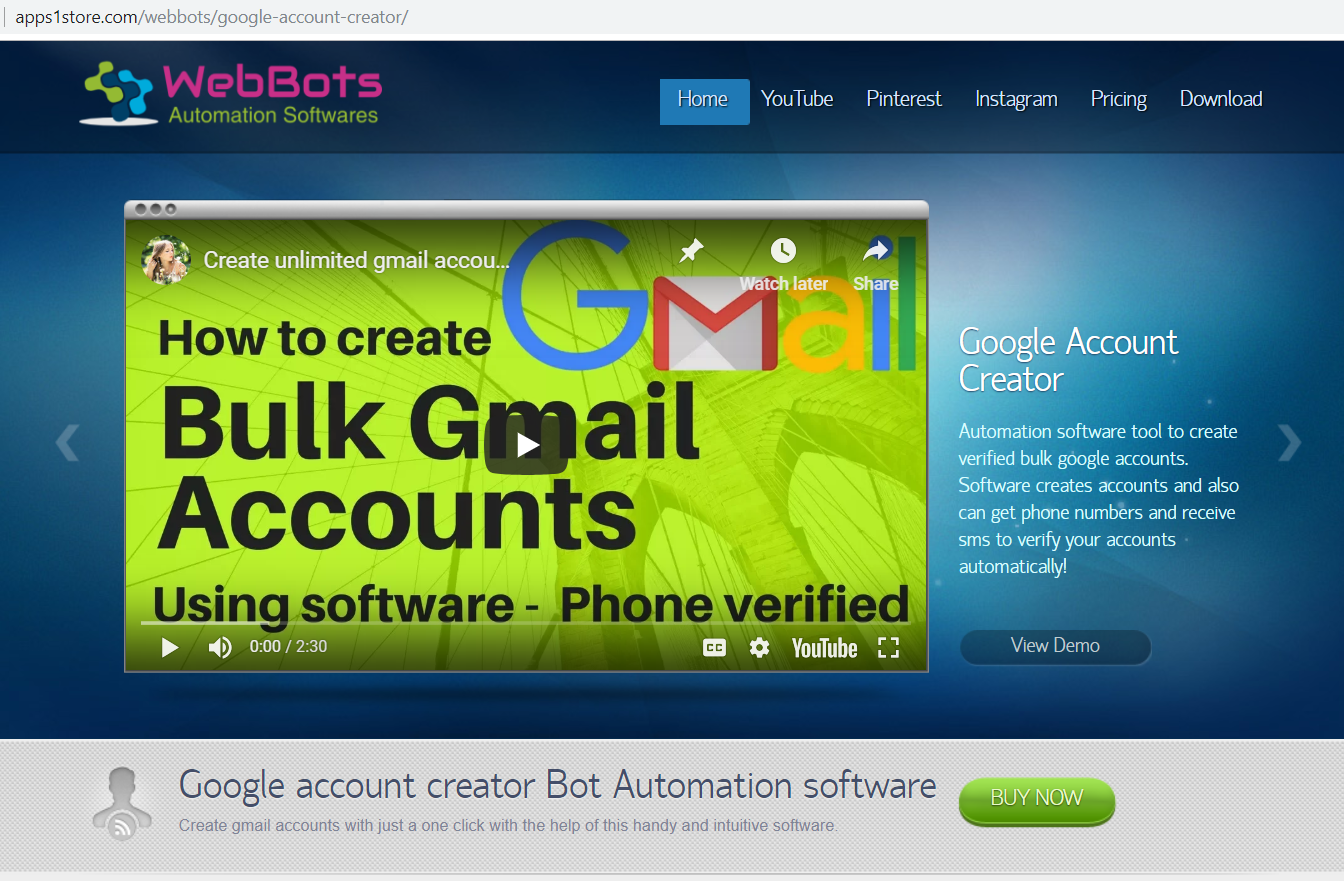 Gmail Account Creator Bot Free Download Automatic Gmail