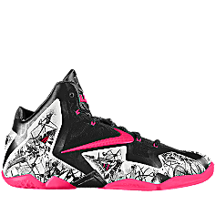 My custom-made LeBron 11 GRAFFITI iD Women s Basketball Shoe is almost  done!  MYNIKEiDS f52e6c8de0