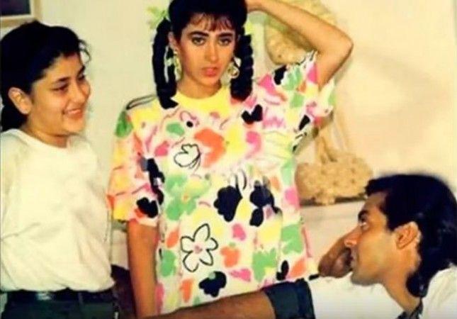 Salman Khan Reveals What Happened When Tubelight Actor Met 9 Year Old Kareena Kapoor Khan Video Bollywood Celebrities Kareena Kapoor Kareena Kapoor Pics