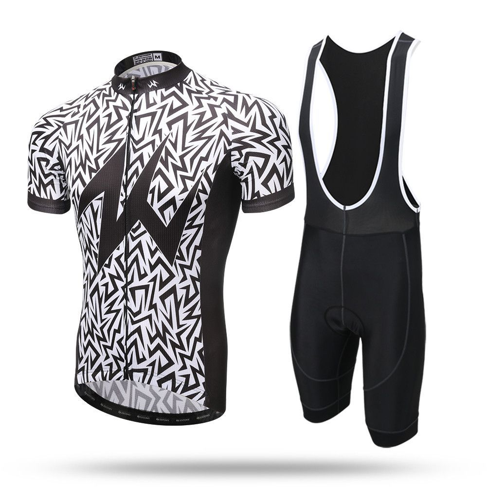 2017 Zebra Short Sleeve Cycling Jersey Set ea07eb7ff